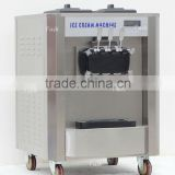 desk top Frozen yogurt ice cream machine ,precooling ,airpump ,Rainbow function for optional (CE) 86-13695249712