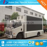 cree fullcolour billboard led screen video TV advertising truck Display LED truck for sale P6 P8 P10