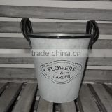 high quality chinese factory metal garden pot