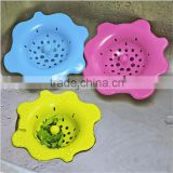 Hot selling and high quality silicone sink strainer,Creative rubber kitchen sink strainer