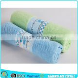 Custom color skin cared 100% microfiber hair drying towel microfiber towel set