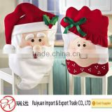 HO!HO!HO!Mr &Mrs santa claus christmas chair cover for home decoration                                                                         Quality Choice