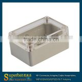 100x68x50mm ABS Clear Cover Plastic Boxes Mould Waterproof Switch Box