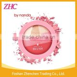 BY BANDA 3color/pcs Natural Face Blush Powder Blusher Longlasting Makeup Blusher