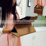 Fashion business handle tablet bag cover for ipad air 2 with multifunctional pocket wholesale