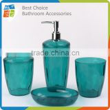 PS Plastic Bathroom Accessories Set