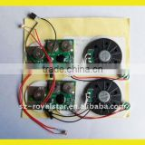Recordable Light sensor Sound Module for book
