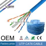 SIPU high speed utp cat6 network cable tester & wire tracker best price cat 6 utp ethernet cable wholesale cat6 lan cable