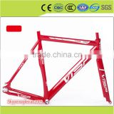 team race Bicycle Frame Road Bike include fork headset dropouts bolt seat clamp free ride
