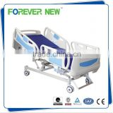 Five-function remote control hospital/ICU bed