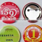 Promotion metal tin button badge,38mm/58mm Custom button