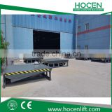 ISO Certificate Adjustable Height 8T, 10T, 12T,15T Car/Trailer Loading Ramp Hydraulic Electric Unloading Cargo Ramp
