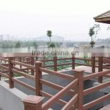 wpc wood handrails for outdoor steps with good quality and low price