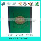 Green Solder Mask Routing Punching V - Cut FR4 Heavy Copper PCBs with HASL for Power-Led Circuit Board