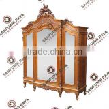 French Style Armoires or Wardrobe Three Doors