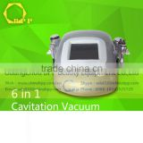 Hot 6 in 1 Ultrasonic cavitation machine price for facial redness+ Eliminate acne scars+shrink pores treatment