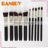 Banidy Professional make up brush set 10pcs Powder Kabuki Contour Cosmetic Foundation Makeup Brushes
