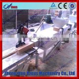 Exported wooden case type top quality hot press sawdust brick making machine