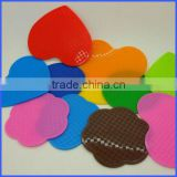 Different styles of silicone coaster