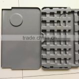 OEM plastic ABS/PE/PC black formed products