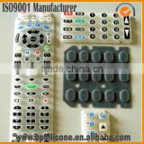 silicone tv remote control protective cover,color Control Panel Membrane silicone keypad