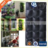 vertical garden felt hydroponics equipment artificial flower wall plant pots cheap plant pots