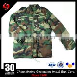 M65 Men Woodland Winter Camouflage Tactical Uniform Military jacket