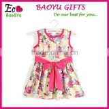 Children Summer Dress 2015 Girl Dress For 2-6 Age Baby Girls Princess Dress Kids Party Wear Formal Dress