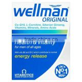Vitabiotics Wellman Vitamin & Mineral Supplement, 30 Tablets