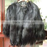 Long Goat Hair Women Coats