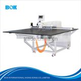 BOK garment industrial Electric pattern sewing machine with CAD computer design for Jacket,t-shirt pocket sewing