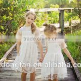 Guangzhou Kid Garment Factory Baby Boutique Wholesale White Dress Lace Baby Frock Patterns