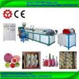 epe polythene foaming fruit vegetable glass bottle packing protect net mesh making machine