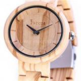Wholesale Automatic Mechanical Wooden  metal  Watch,natural Zebra wood and metal combination