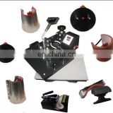 8 in 1 heat press transferrring machines