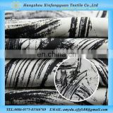 black and white wholesale printed tencel cotton fabric from china manufacturers