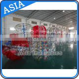 2017 popular sale PVC or TPU Dia 1.2m 1.5m 1.8m inflatable human hamster ball zorb ball battle ball