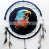 Handmade Wolf/Bear/Eagle Dream Catcher Wall Hanging Decoration Craft Gift