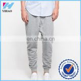 Yihao 2015 Custom Cotton Polyester Fabric Drop Crotch Jogger Pants Mens Sweat Pants Hip Hop Pants