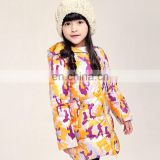 T-GC017 New Look Winter Latest Design Girls coat Camouflage Printing Jacket