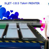 SLJET handy direct logo inkjet t shirt garment flatbed inkjet tarpaulin printer printing machine for sale