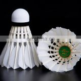 new products 12 PCS LYDOO Golden NO.9 White Goose Feather Shuttlecocks Birdies Ball Badminton shuttlecock