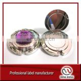 Hot Sale Customize Double Layer Type And Blank Crystal Decoration Women Giveaway Metal Folding Round Bag Hanger