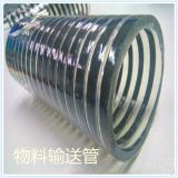 PVC Hose With PVC Helix/material transport hose/color hose