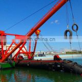 20 inch cutter suction sand dredger in stock Image