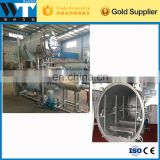 Industrial automatic high pressure canned food|fruit juice|jam spray type retort machine