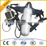 Personal Protective Equipment Of Carbon Fiber Gas Cylinder SCBA