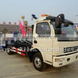 Dongfeng 4x2 wrecker truck/rotator tow truck for sale