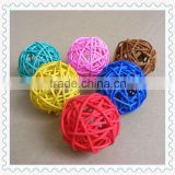 2013 weaving wicker decorative rattan ball for decoration