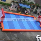 Outdoor Durable Inflatable Soccer Field for kids inflatable football game,adult inflatable water soccer field